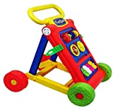 Goyal's Baby Activity Walker - Toddler Learning Toys, 9 Months -1.5 Year (Red)
