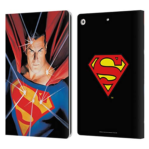 Head Case Designs Officially Licensed Superman DC Comics Alex Ross Mythology Famous Comic Book Covers Leather Book Wallet Case Cover Compatible with Apple iPad 10.2 (2019)/(2020)