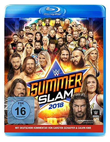 WWE: Summerslam 2018 [Blu-ray]