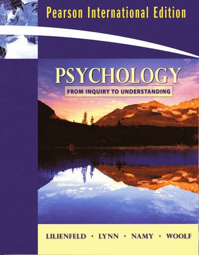 Psychology-from Inquiry to Understanding