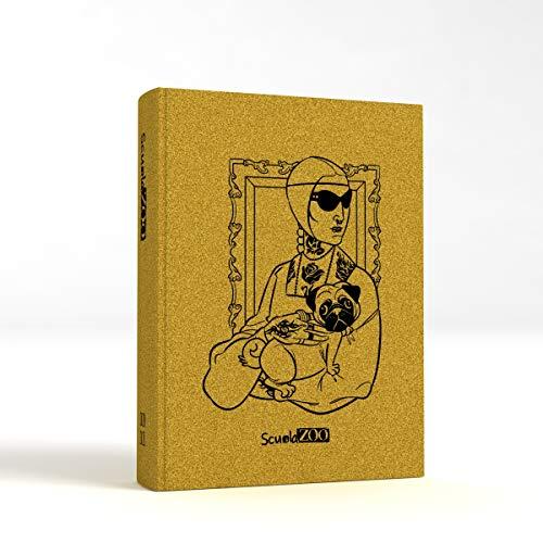 ScuolaZoo Diario 2020-2021 Datato 16 Mesi Limited Edition, Classic 11x15 cm (Oro Metallizzato)