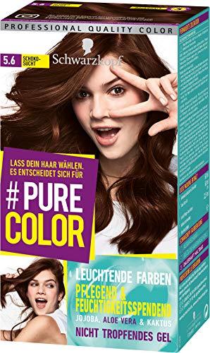 SCHWARZKOPF #PURE COLOR Coloration 5.6 Schokosucht Stufe 3, 1er Pack (1 x 143 ml)