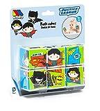 M MOLTO Puzzle de Cubos para baño - Liga de la Justicia