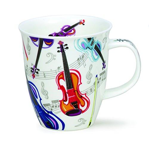 DUNOON Bone China Tempo Musik Tasse - Violin