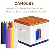 Zoom IMG-1 muoivg candele 100 colori assortiti