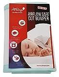 Airoya Premium - Protector de cuna de doble cara con capas dobles que aportan un...