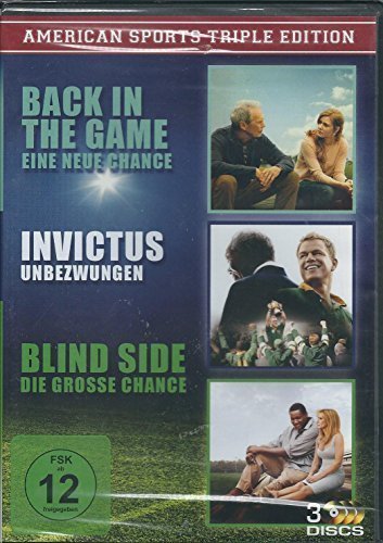 3 Discs Edition Back in the Game/Invictus-Unbezwungen/Blind Side-Die grosse Chance