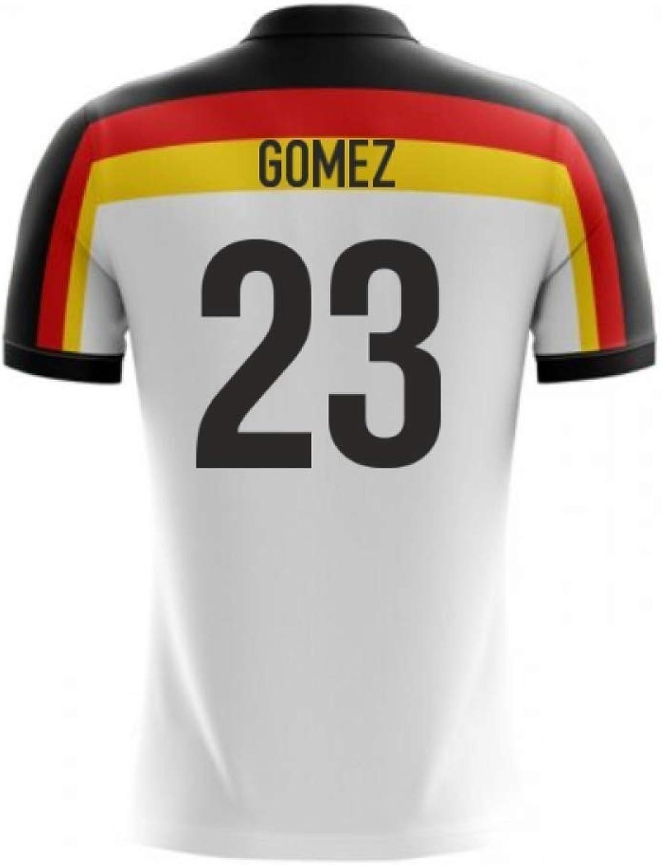 98d70185 Airosportswear 2018-2019 Germany Home Concept Football Soccer T-Shirt 23)  (Mario Gomez npwaeu7529-Sporting goods
