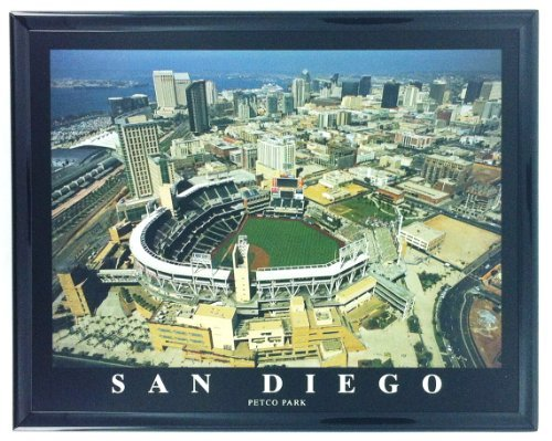 San Diego Padres Baseball Petco Park Framed Aerial Photo F7561A
