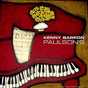 Paulson's (Live 1981)