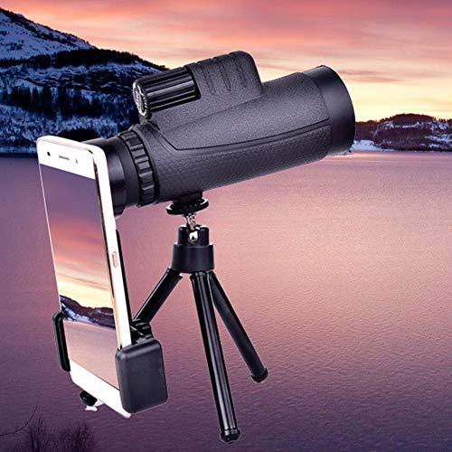 Telescopio monocular monocular Eagle Eye Optoelectronics - Prismáticos monocular de alta resolución y ampliable (10 x 42)