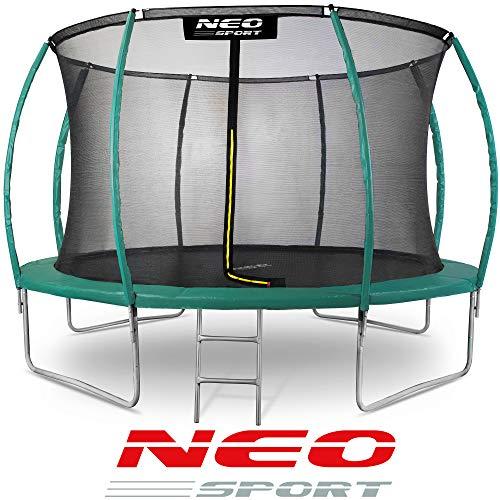 Neo-Sport Gartentrampolin Trampolin 366 cm für Kinder Komplettset mit...