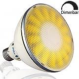 VIRIBRIGHT LED PAR38 Lampe Birne 73488 | 18W | CRI ≥ 80 RA | Warm-weiß 2800°K | 1100 Lumen | dimmbar | 90°  Winkel | statt 75W – 100W Leuchtmittel PAR 38 Reflektor Strahler 120mm ⌀ | E27 Fassung |