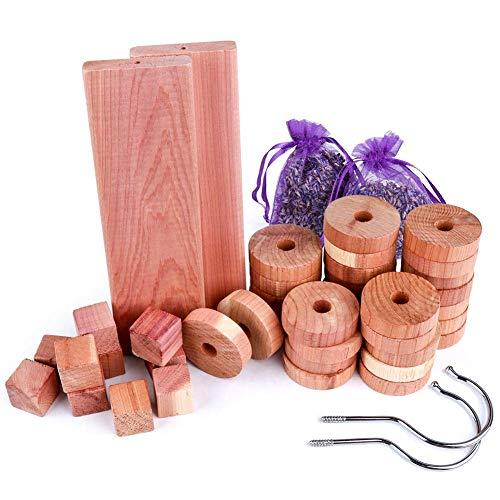 Anti-mite en bois de cèdre