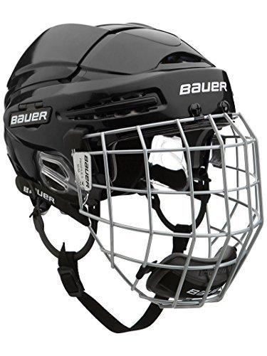 Bauer Eishockey Helm 5100Combo Senior Medium schwarz - schwarz