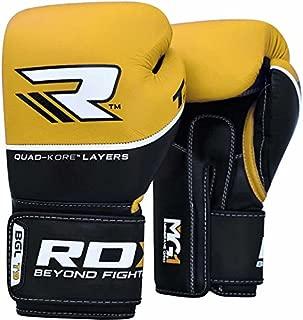 RDX Unisex Piel de Vacuno Quadro de Dome F7/Boxeo