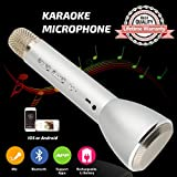 Micrófono para niños, Karaoke Micrófono inalámbrico Bluetooth con altavoz Niños Máquina...
