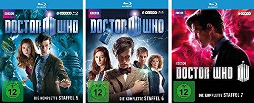 Doctor Who - Staffel 5-7 [Blu-ray]