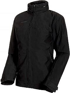Mammut Women's 3in1 Trovat Hardshell Jacket with Hood, Black-Black