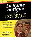 La Rome antique Pour les nuls