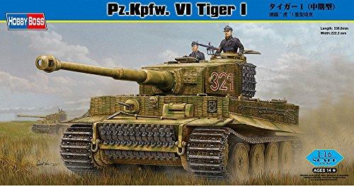 Hobby Boss 82601 Modellbausatz Pz. Kpfw. VI Tiger 1