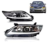 MOSTPLUS Headlight LED DRL Headlights lamp Compatible for 2010-2011 Toyota Camry
