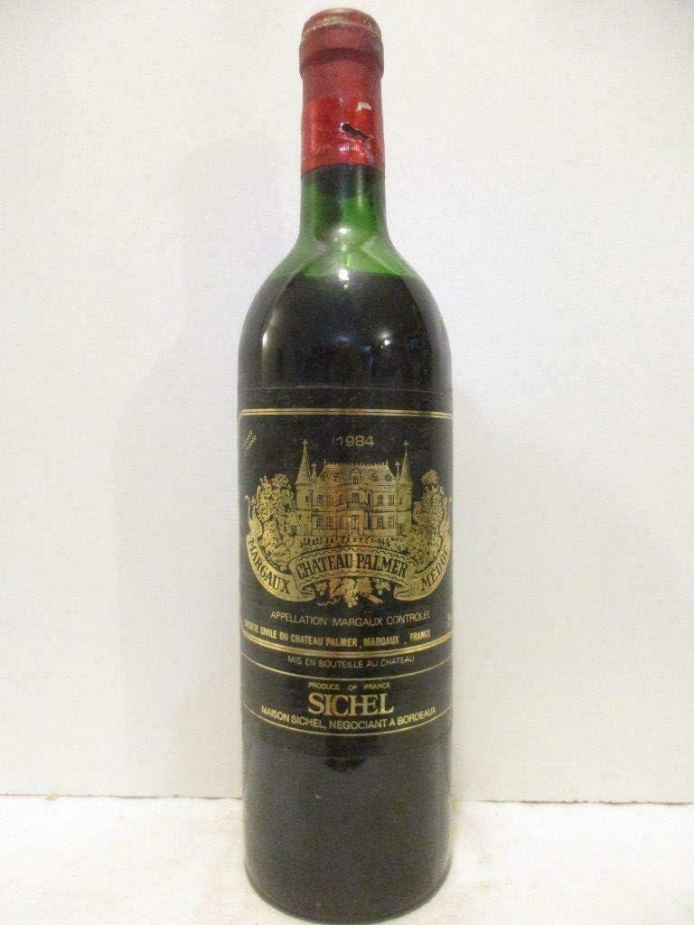 margaux château palmer grand cru classé (capsule oxydée) rouge 1984 - bordeaux