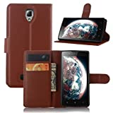 Manyip Lenovo A2010 Case PU Leather Stand Wallet Flip Case
