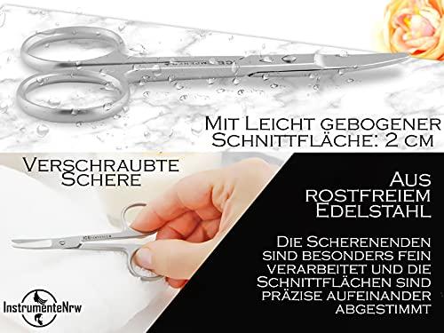 Profi Nagelschere Baby-Nagelschere mit abgerundeten Enden aus Edelstahl - 3