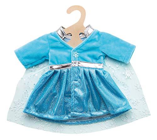 Heless 2727 - Mantel Eisprinzessin mit Umhang, für Puppen, Größe 35 - 45 cm