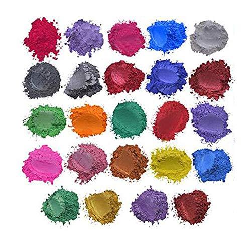 Liamostee Mica Powder Epoxy Resin Dye Seifenfarbe für die Seifenherstellung