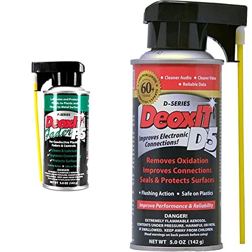 【セット買い】CAIG F5S-H6 DeoxIT FaderLube 5oz 接点潤滑剤 & D5S-6 DeoxIT 5oz 接点復活剤