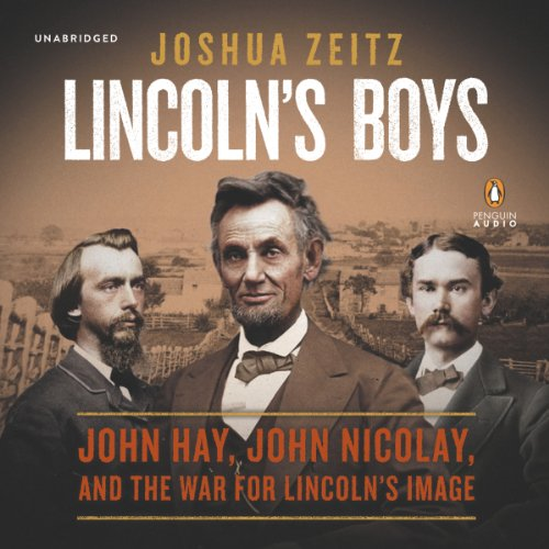 Lincoln's Boys audiobook cover art