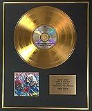 Iron Maiden–Edición limitada de 24quilates de oro disco–Número de la bestia