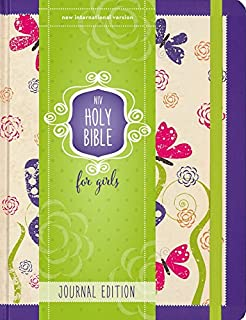 Best NIV, Holy Bible for Girls, Journal Edition, Hardcover, Purple, Elastic Closure Review