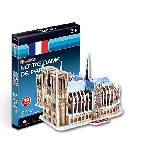 CubicFun Puzzle 3D Notre Dame de Paris (Tachan S3012h)