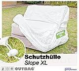Sitzsack Outbag Schutzhülle Slope XL Stoffart Outbag in weiss