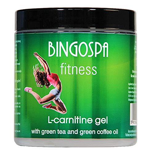 BINGOSPA Fitness Gel Anti-cellulite Amincissant Brûlant de L-Carnitine au Thé Vert - 250ml