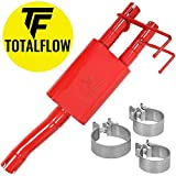TOTALFLOW Red 2 15633 09-18 Direct Fit Exhaust 2009-2018 Dodge Ram 1500 (Two Chamber Muffler)