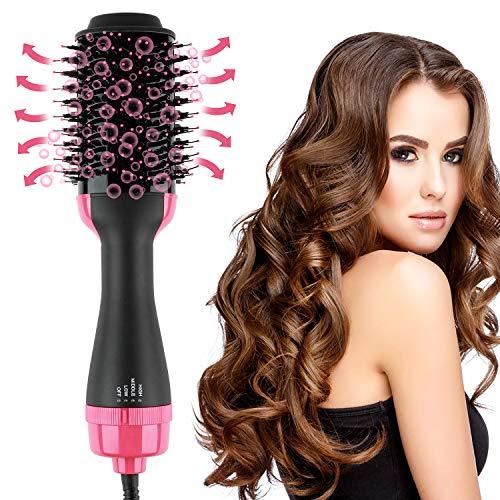 One-Step Hair Dryer And Volumizer Hot Air Brush, Black