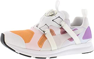 Puma Future Disc Hst Dip Dye Running Shoes for Men - White/Orange
