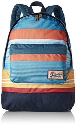 Quiksilver Everyday Póster Medio Mochila Grande, Hombre, Everyday Poster, Nasturticm Everyday Stripes, 1SZ