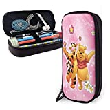 Pencil case Winnie The Pooh Large Capacity Office Stationery Box Student Adult Multi-Slot School Supplies Simple Storage Bag Wallet