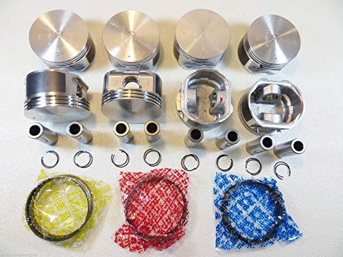 Premium Rear Crankshaft Seal//Sleeve 72-95 Toyota Pickup 4Runner Celica Corona 2.0//2.2//2.4L 4-Cylinder 8-Valve SOHC