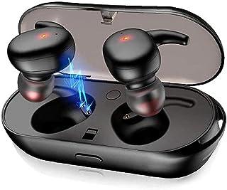 Auriculares sin hilos impermeable en la oreja los auriculares Y30 TWS 5.0 Auriculares con cancelación de ruido para el Deporte Negro