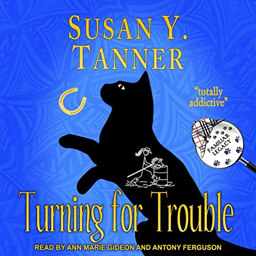 Turning for Trouble audiobook cover art