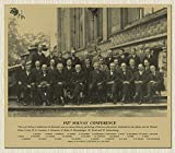 CNHNWJ 1927 Fünfte Solvay Konferenz Physiker Foto Poster
