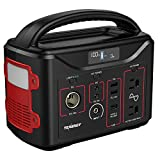 Tenergy Portable Power Station, 300Wh Battery, 110V/200W(Surge 400W) TwoPure Sine Wave, AC outputs, USB Type C PD 45W, Solar Ready Mobile Power for Outdoors Camping Vans RV Hunting Emergency Backup