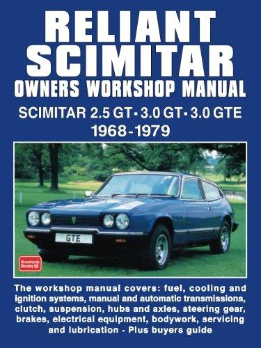 Reliant Scimitar Owners Workshop Manual