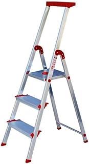 Escalera Rolser Aluminio Brico 220 3 Peldaños anchos: Amazon.es: Hogar